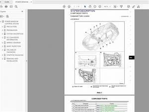 Nissan X-trail T32 2018 Workshop Manual