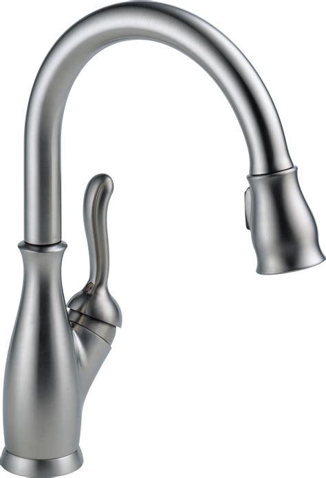 kitchen faucets amazon delta faucet 9178 rb dst leland single handle pull