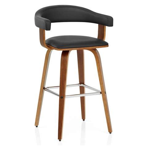 chaises de bar en bois chaise de bar faux cuir bois ontario monde du tabouret