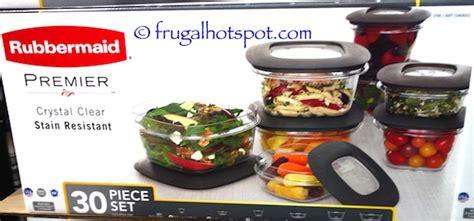 Rubbermaid Premier 30-piece Food Storage Set