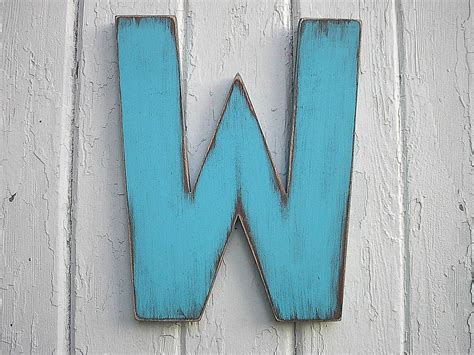 wooden letters    shabby chic wall art rustic decor