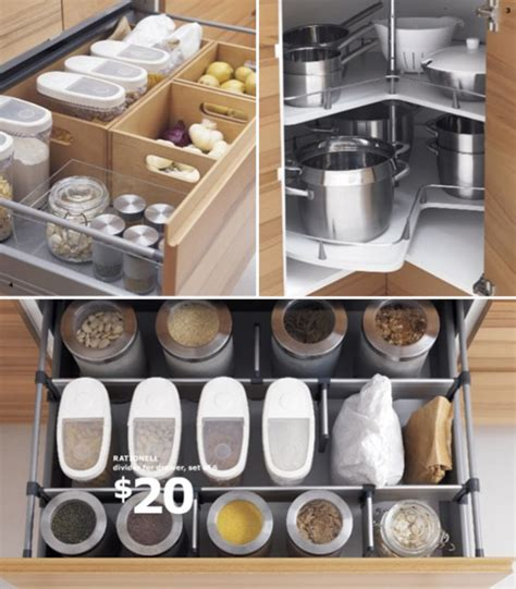 kitchen storage ideas ikea clever kitchen organizers at ikea at home with vallee