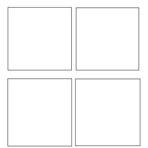 Four Panel Comic Template by 4 Panel Window Template By Theduckofanime On Deviantart