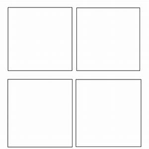 4 panel window template by theduckofanime on deviantart for Four panel comic strip template