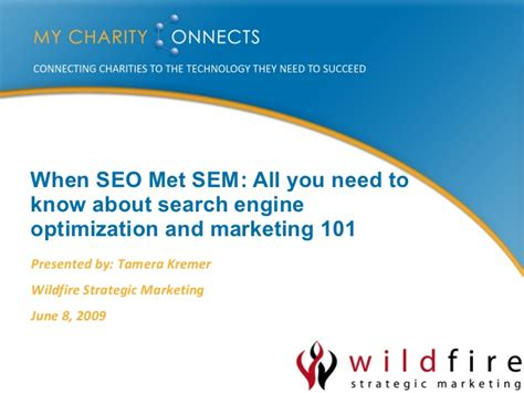 Search Engine Optimization Marketing by When Seo Met Sem All You Need To About Search Engine