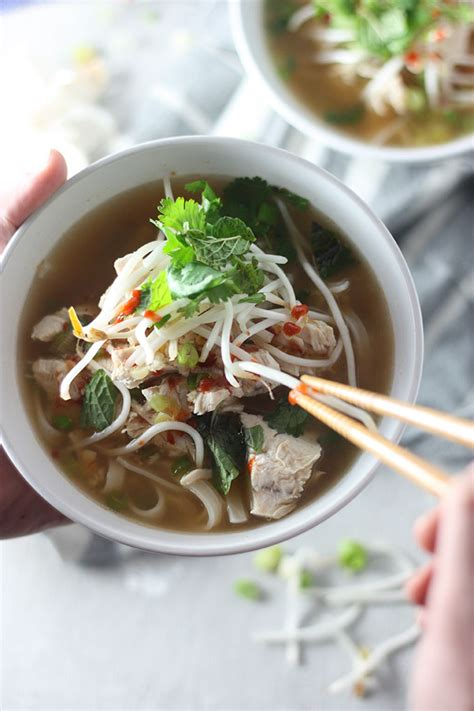 quick  easy chicken pho  home cooks kitchen