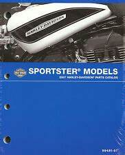 Harley Davidson Sportster Motorcycle Parts Catalogs For