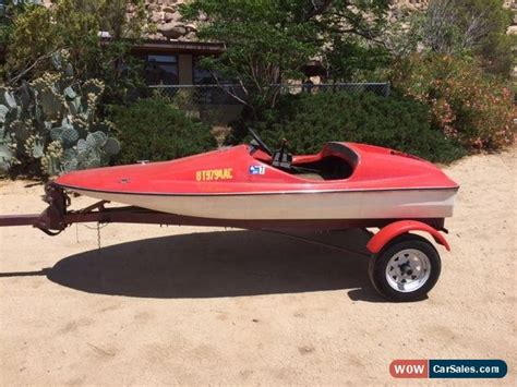 Invader Mini Boat gw invader style mini speedboat 10ft with trailer titles