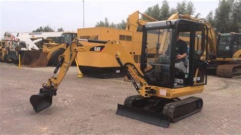 mini excavator cat  check  moves atholland machinery youtube