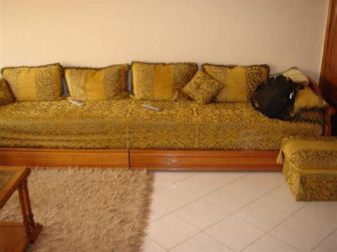 canapé moderne photos canapé marocain bois