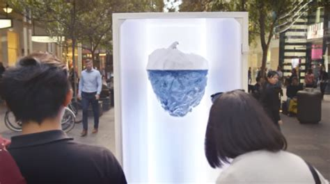 greenpeace  ogilvy sg tackle climate change  ooh exhibition marketing interactive