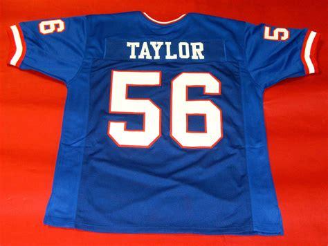 Lawrence Taylor Custom New York Giants Jersey