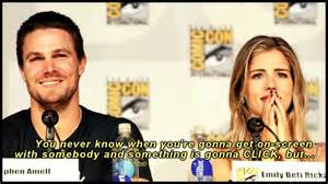 my wedding ring stephen amell emily bett rickards two is better than