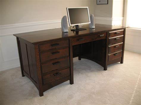 oak desk plans  woodworking