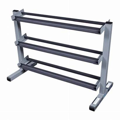 Rack Dumbbell Solid Tier Weight Dumbbells Rubber