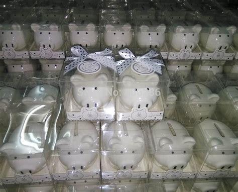 birthday party souvenirs ceramic coin box mini piggy bank