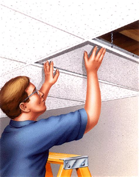 How To Install Suspended Ceiling Tiles Easily