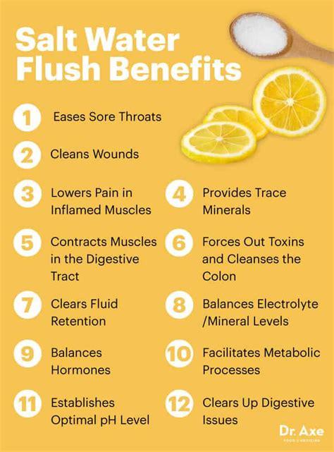 salt water flush safest   cleanse  colon  detox