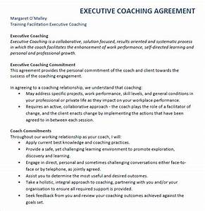 Executive agreement 7 free samples examples format for Executive coaching agreement template