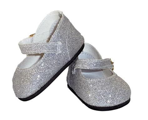 mary jane glitter shoes  rosies dolls clothes