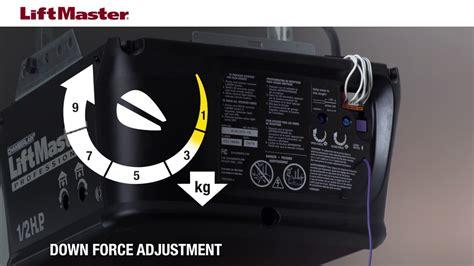 Garage Door Adjustment by How Do I Adjust My Liftmaster Garage Door Opener Dandk