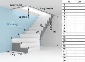 Tremis Escalier Quart Tournant Haut by Prendre Les Mesures Pour Escalier Quart Tournant
