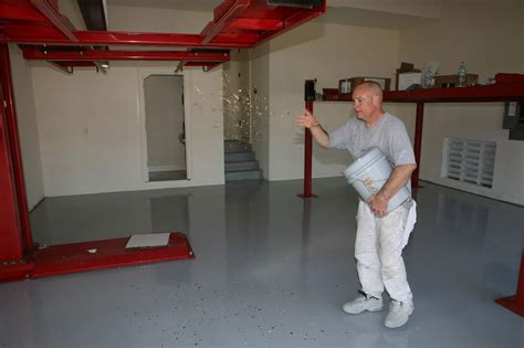 garage floor paint coverage ucoat it do it yourself epoxy floor coating kit install hot rod network