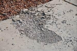 Concrete Driveway Spalling
