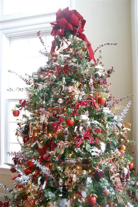 woodland christmas tree christmas pinterest
