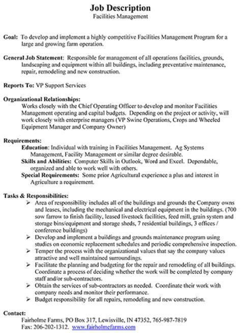 Facilities Coordinator Description by Description Facilities Manager Flickr Photo