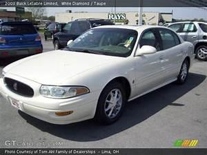 White Diamond - 2003 Buick Lesabre Limited - Taupe Interior