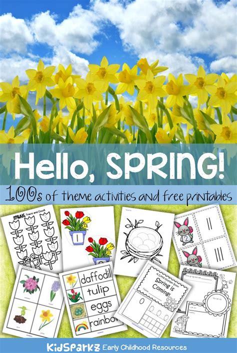 best 25 theme ideas on theme 174 | 2ffa13152bae68553cbc149104ae15fa spring season preschool seasons for preschool