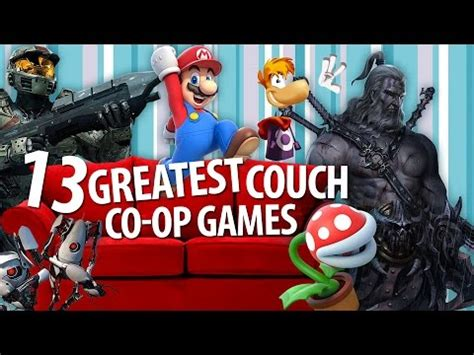 13 Greatest Couch Coop Games Youtube