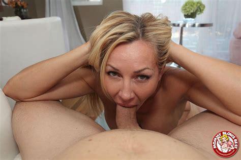 Lisa De Marco Hot Blonde Milf Sucks Some Fat Cock My Xxx
