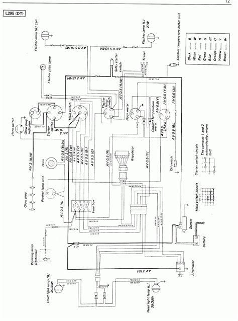 kubota ignition switch wiring diagram free wiring diagram