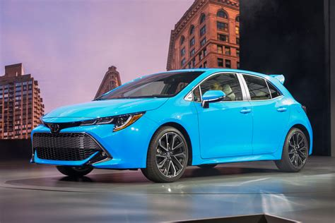 toyota corolla hatchback specifications