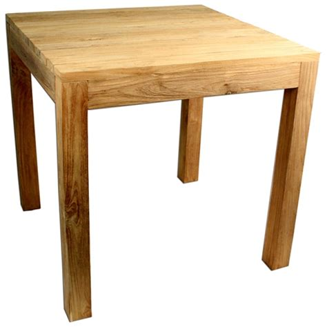 rustic square dining table rustic square outdoor dining table teak wood dcg stores 5024