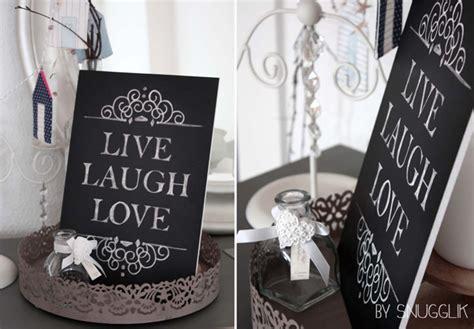 hartschaum wandbild  tafel optik  laugh love