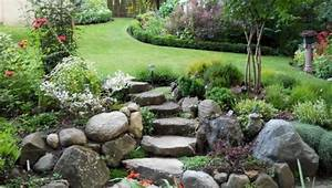 Idee Amenagement Jardin : 1001 id es et conseils pour am nager une rocaille fleurie ~ Melissatoandfro.com Idées de Décoration