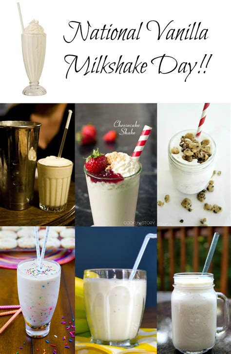 june   national vanilla milkshake day