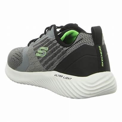 Skechers Bounder Verkona Sneaker Charcoal Gray Schuhfachmann