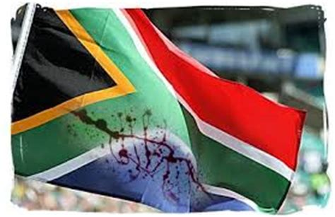 south african flag blood south africa today