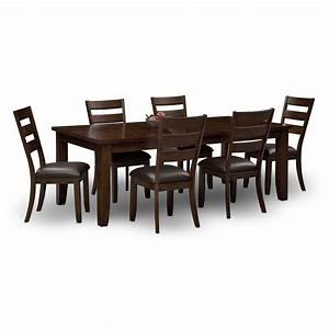 abaco 7 pc dining room value city furniture With dining room sets value city furniture