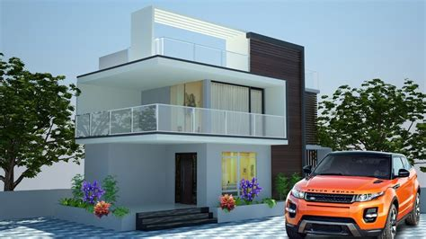 ds max modern exterior tutorial  part  youtube