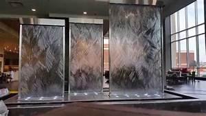 Custom Glass Water Walls & Indoor Waterfalls-Unique Indoor