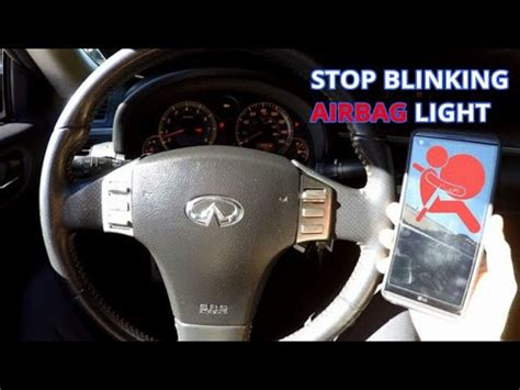 Airbag Light Blinking by Telling Dealership How To Stop Blinking Airbag Light