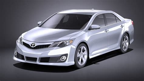 3D model Toyota Camry SE 2013 USA VRAY   CGTrader