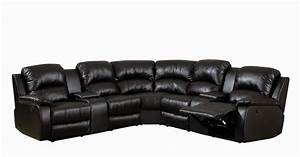 Best leather reclining sofa brands reviews england novak for Black leather sectional sofa uk