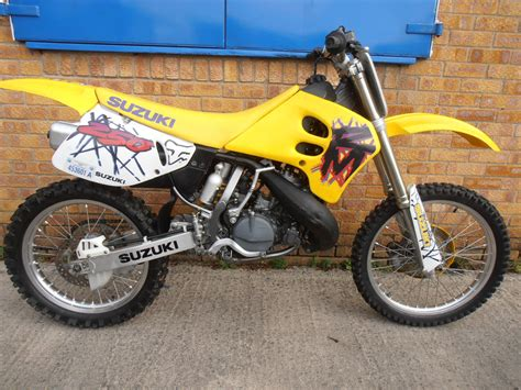 evo motocross bikes suzuki rm 250 1995 super evo mx bike