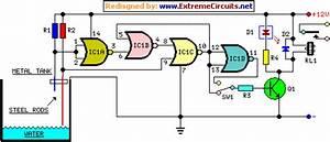 Water Pump Relay Controller Circuit Schematic Circuit Diagram